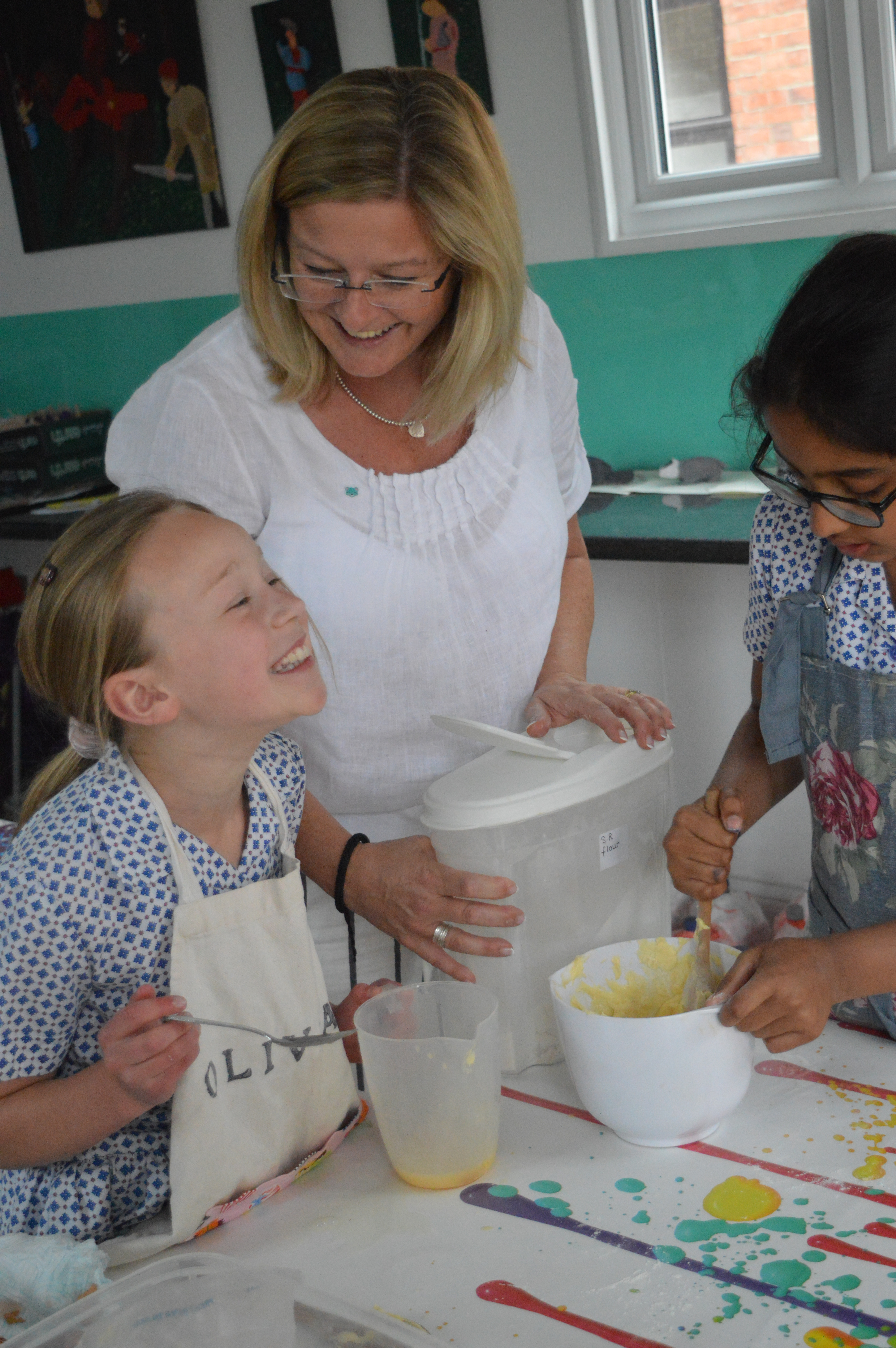 Headmistress, Tracey Wilson, ran a 'Bake Off Club' last year with pupils in Years 4-6